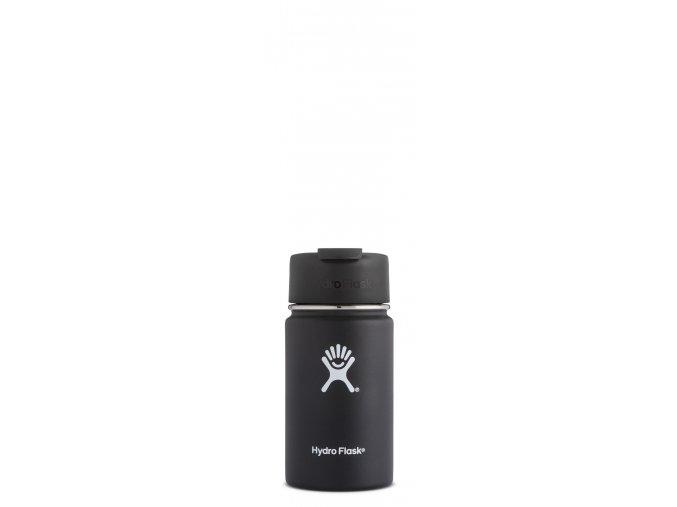 Hydro Flask 12oz Wide Mouth Coffee FLIP LID Black Termohrnek 354 ml