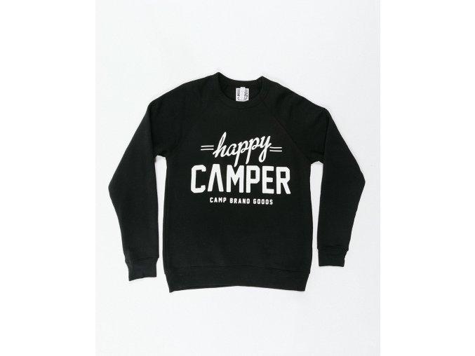 HAPPY CAMPER CREWNECK BLACK 7