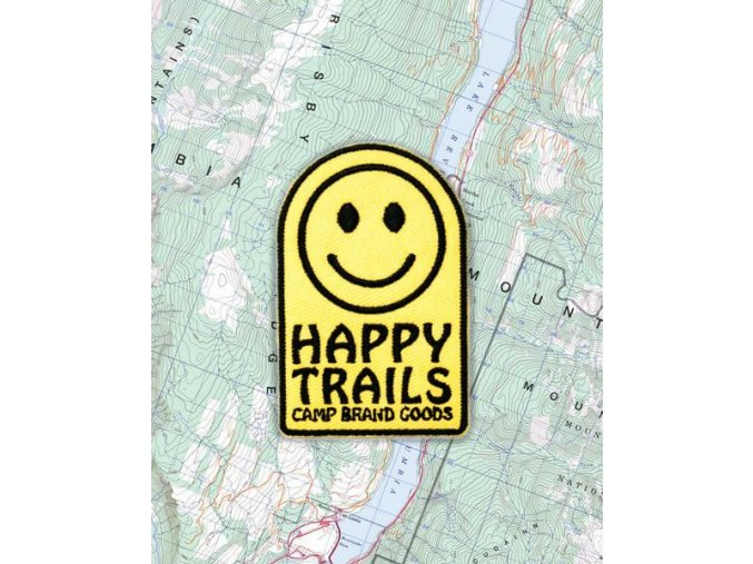 Camp Brand Goods nášivka HAPPY FACE 2