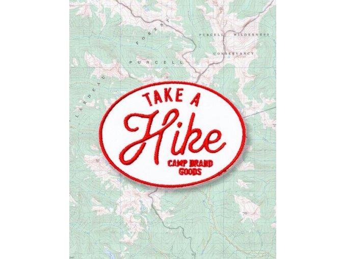 Camp Brand Goods nášivka TAKE A HIKE PATCH 2