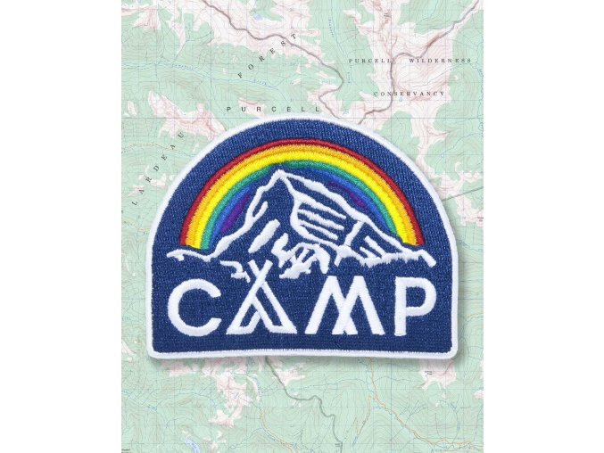 Camp Brand Goods nášivka IN IT TOGETHER 2