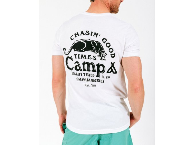CHASIN' GOOD TIMES T SHIRT WHITE 1
