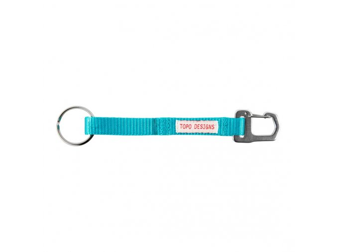 TopoDesigns key clip Turquoise