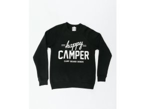 HAPPY CAMPER CREWNECK BLACK 7