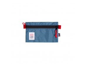 Topo Designs Accessory Bag Small Blue White Ripstop