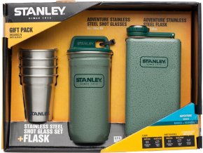 STANLEY Dárkový set Adventure series butylka + panáky 4ks