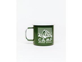 Camp Brand Goods smaltovaný hrnek HERITAGE LOGO 2