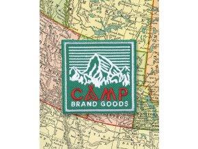 Camp Brand Goods nášivka HERITAGE GREEN 2
