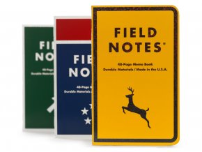 Field Notes zapisnik Mile Marker