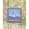 Camp Brand Goods nášivka HERITAGE BLUE 2