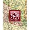 Camp Brand Goods nášivka HERITAGE MAROON 2