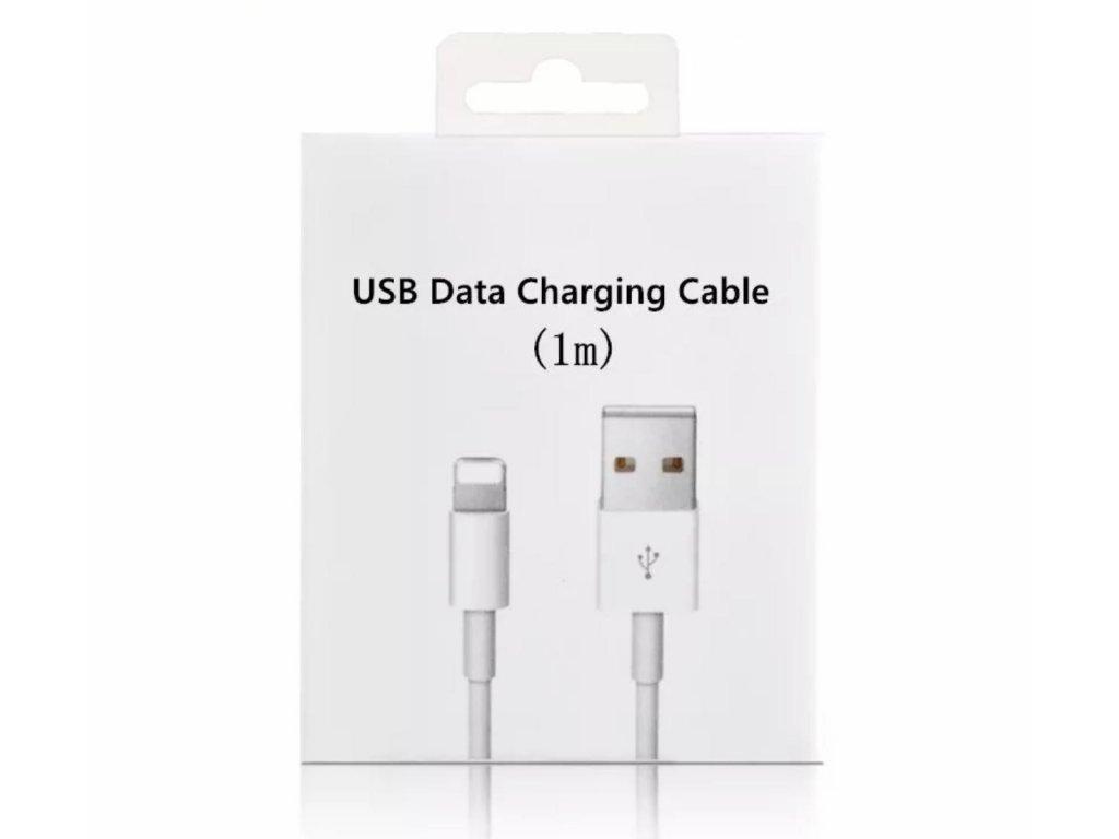 Lightning datový nabíjecí kabel 1m s krabičkou