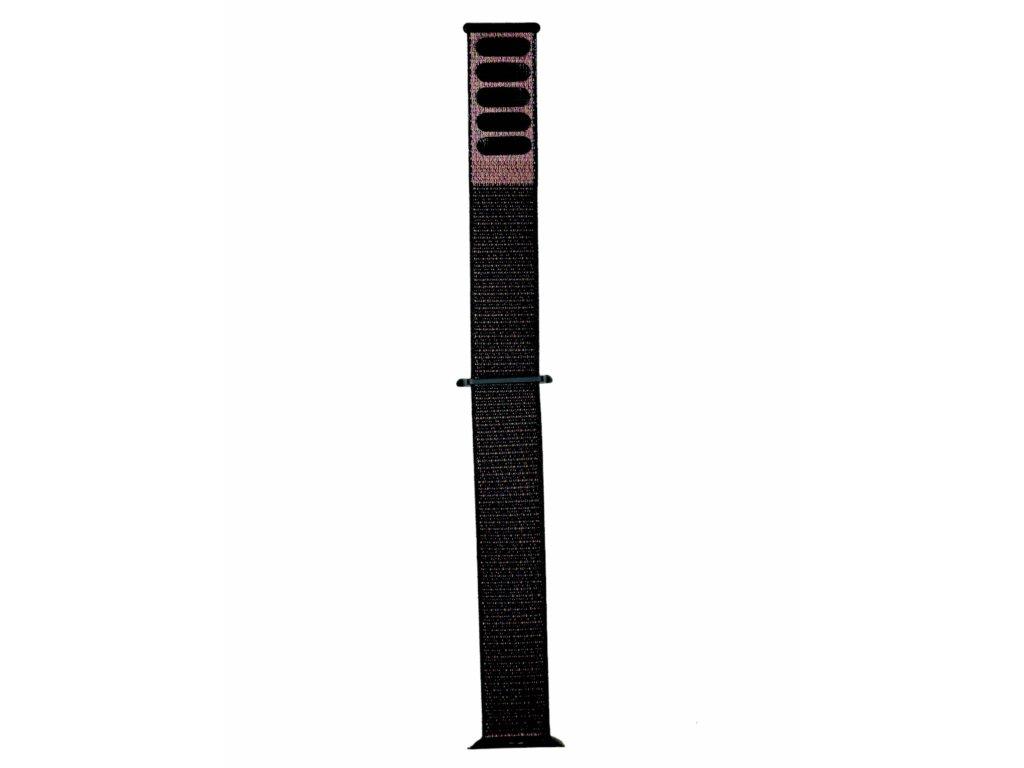 Nylonový černý řemínek pro všechny generace Apple Watch