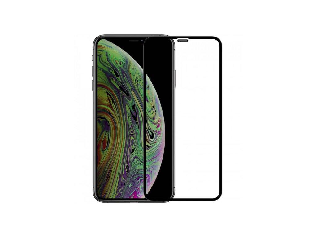 10D tvrzené sklo pro iPhone Xs Max s vysokou tvrdostí a pokrytím celého displeje. Ochrání před poškrábáním iPhonu Xs Max a proti prasklinám.