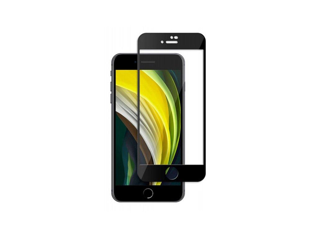 10D tvrzené sklo pro iPhone SE 2020 s vysokou tvrdostí a pokrytím celého displeje. Ochrání před poškrábáním iPhonu SE 2020 a proti prasklinám.