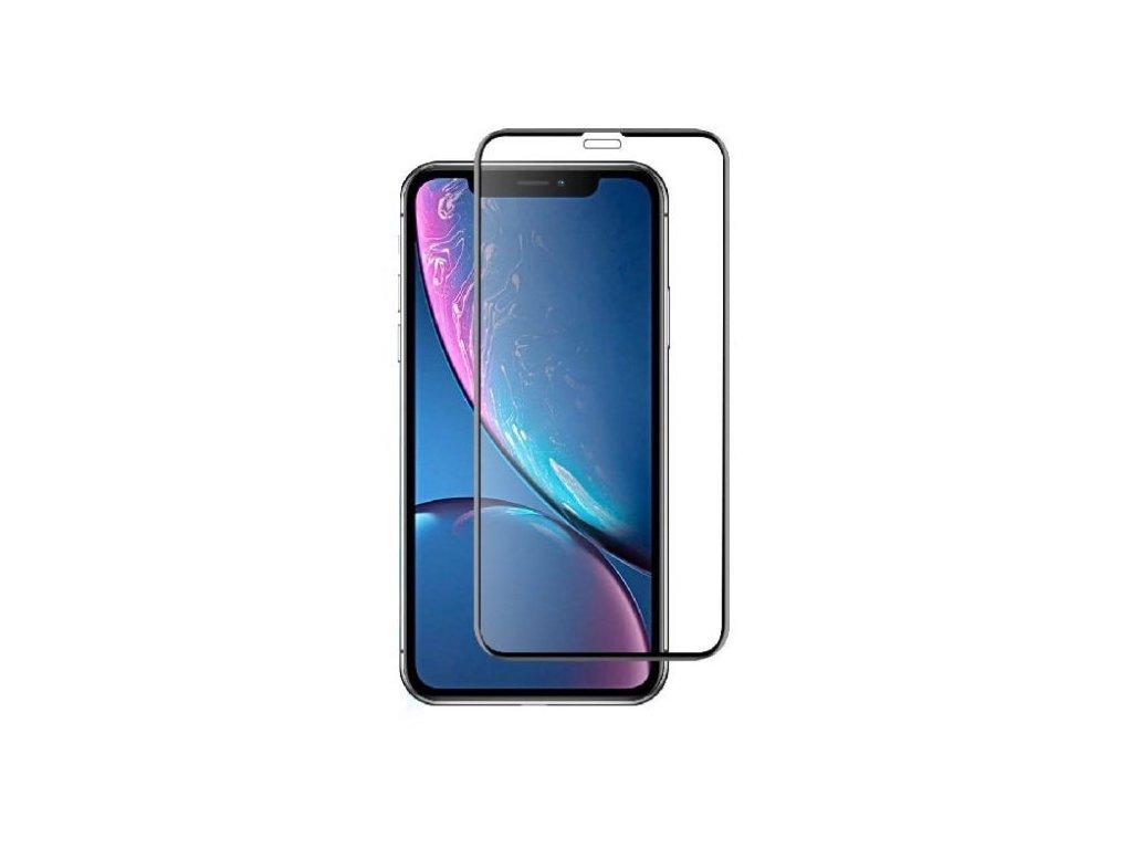 10D tvrzené sklo pro iPhone 11 s vysokou tvrdostí a pokrytím celého displeje. Ochrání před poškrábáním iPhonu 11 a proti prasklinám.