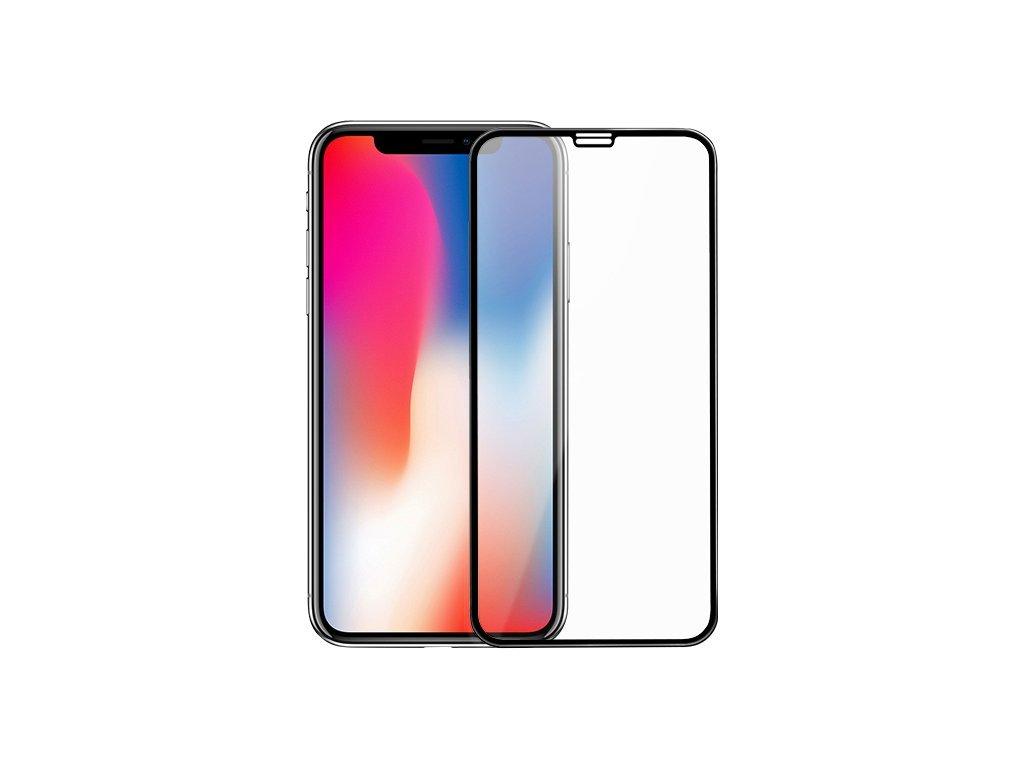 10D tvrzené sklo pro iPhone X s vysokou tvrdostí a pokrytím celého displeje. Ochrání před poškrábáním iPhonu X a proti prasklinám.