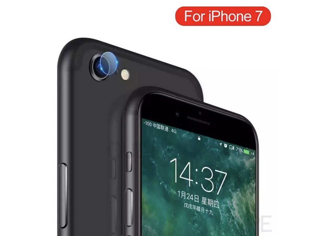 Ochranné sklo na čočku fotoaparátu pro Apple iPhone 7
