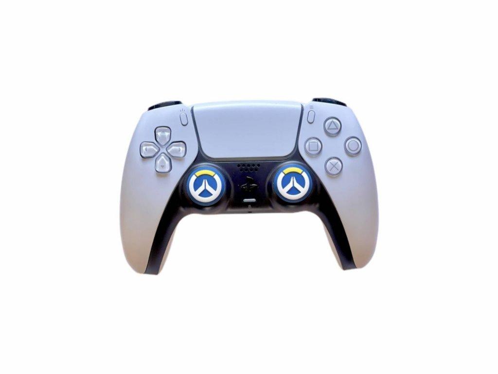 OverWatch návleky na páčky k PS5/PS4/PS3 (thumb grip caps) 2 ks