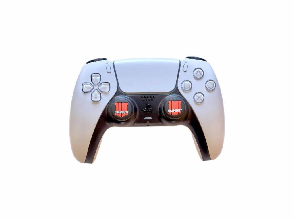 Call of Duty: Black Ops 4 návleky na páčky k PS5/PS4/PS3 (thumb grip caps) 2 ks