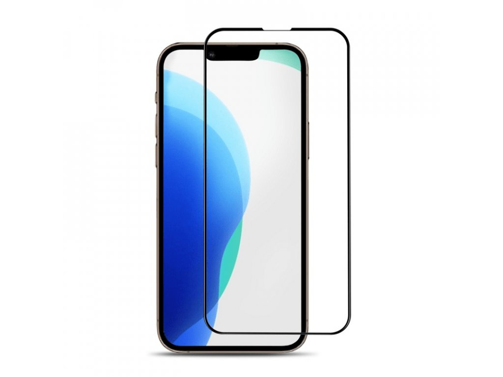 10D tvrzené sklo černé (iPhone 13 mini)