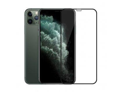 10D tvrzené sklo pro iPhone 11 Pro s vysokou tvrdostí a pokrytím celého displeje. Ochrání před poškrábáním iPhonu 11 Pro a proti prasklinám.