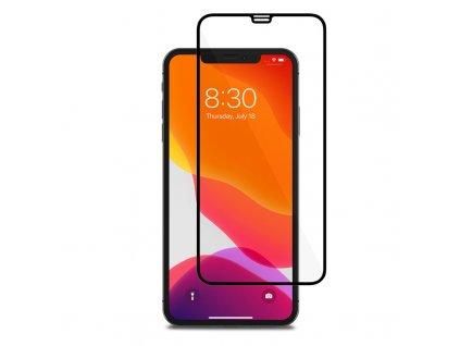 10D tvrzené sklo pro iPhone 11 Pro Max s vysokou tvrdostí a pokrytím celého displeje. Ochrání před poškrábáním iPhonu 11 Pro Max a proti prasklinám.