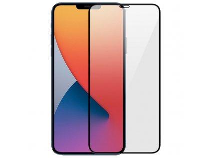 10D tvrzené sklo pro iPhone 12 mini s vysokou tvrdostí a pokrytím celého displeje. Ochrání před poškrábáním iPhonu 12 mini a proti prasklinám.
