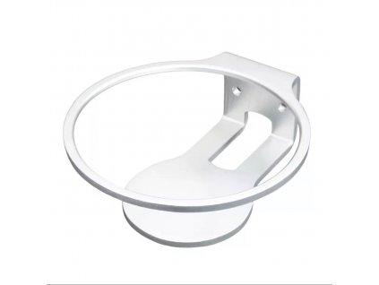 Bílý hliníkový držák na HomePod mini