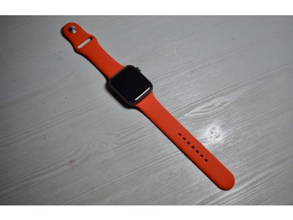 Červený silikonový řemínek pro Apple Watch 38mm a 40mm