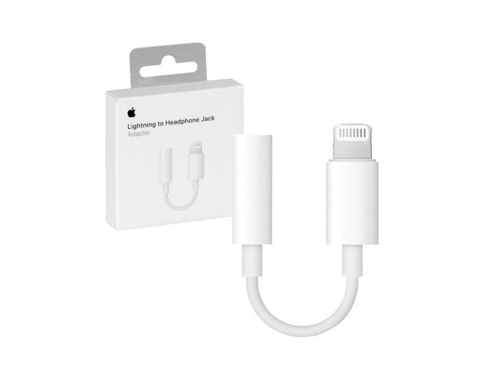 Redukce Apple - Lightning -> JACK 3,5 mm