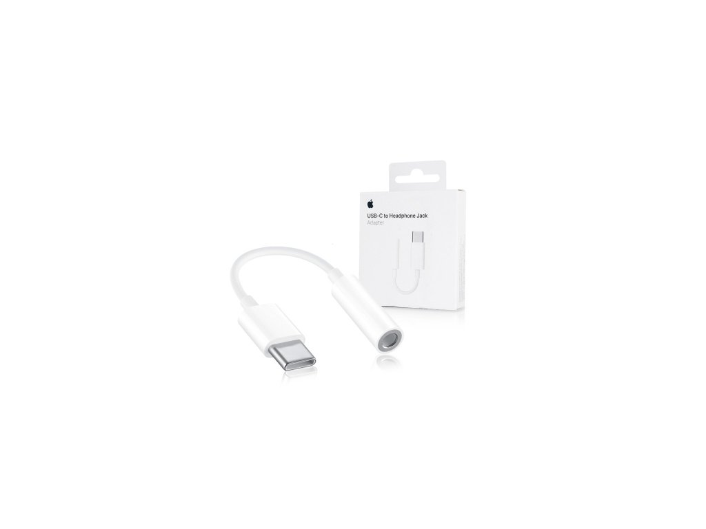 Redukce Apple - USB-C -> JACK 3,5 mm