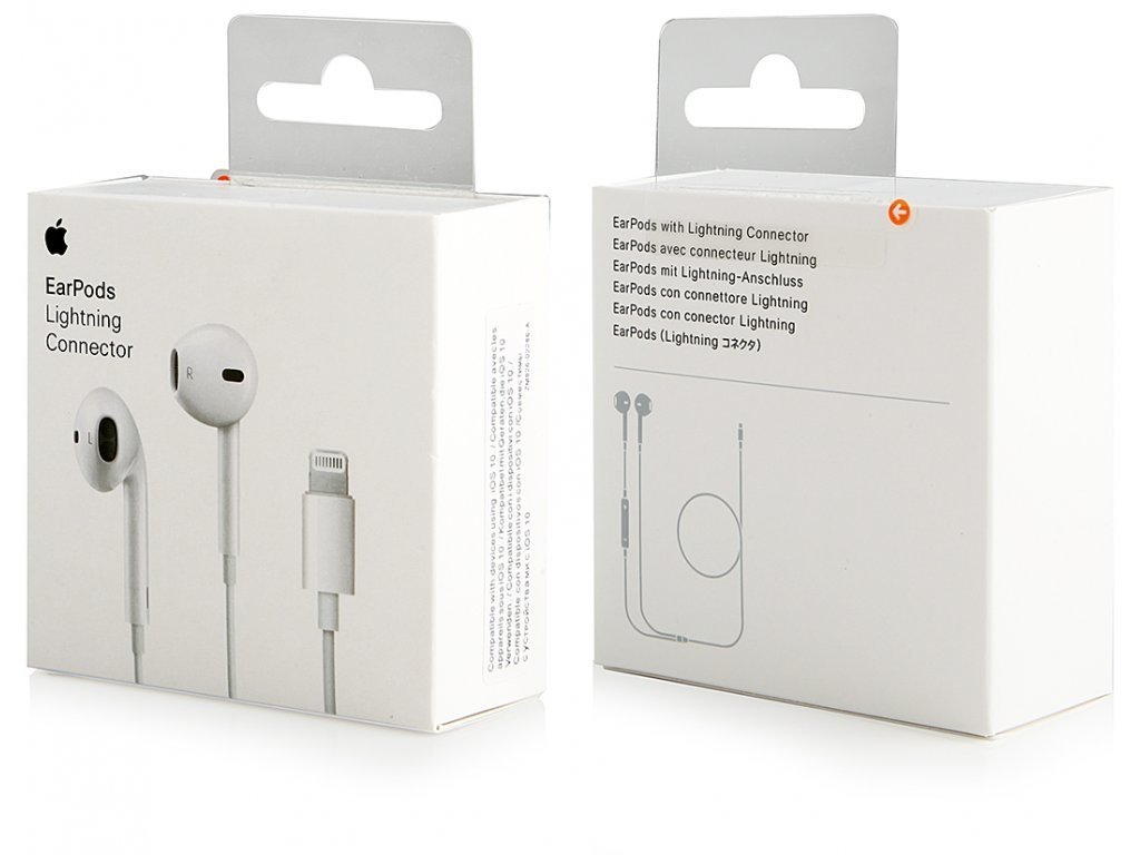 Apple EarPods Lightning konektor