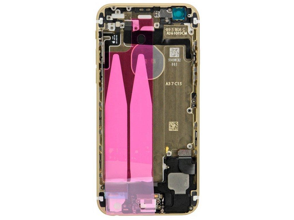 iPhone 6 - Osazený kryt baterie Gold