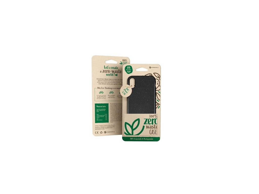 Zero waste pouzdro černá - iPhone 6/6S