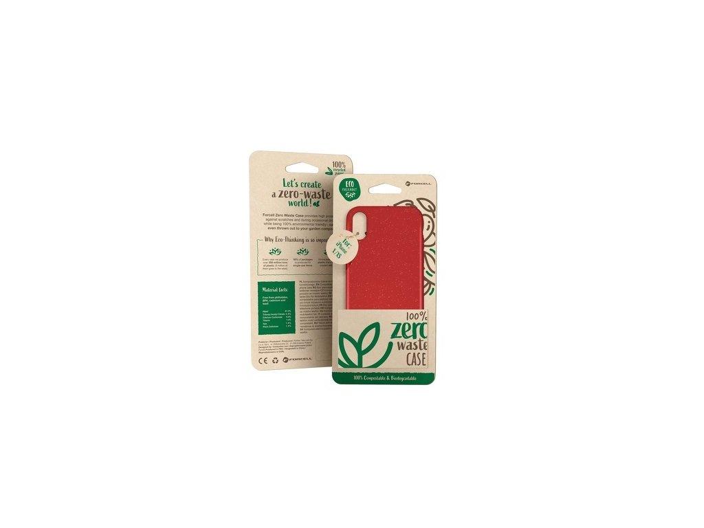 Zero waste pouzdro červená - iPhone 7/8/SE 2020