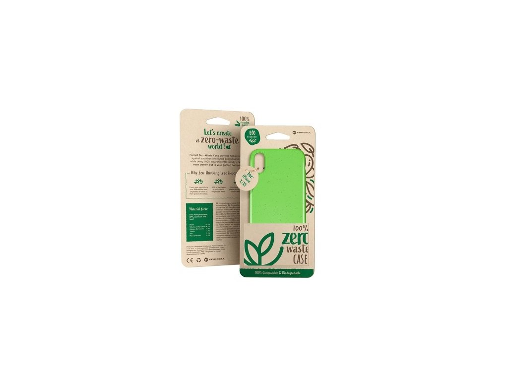 Zero waste pouzdro zelená - iPhone 11 Pro
