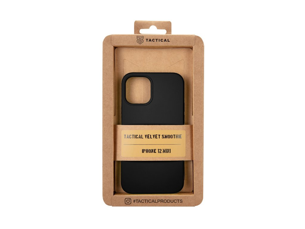 iPhone 12 Mini - Tactical Velvet Smoothie Asphalt