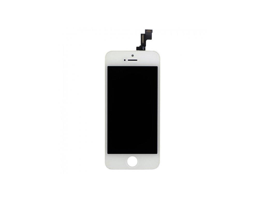 bílý LCD