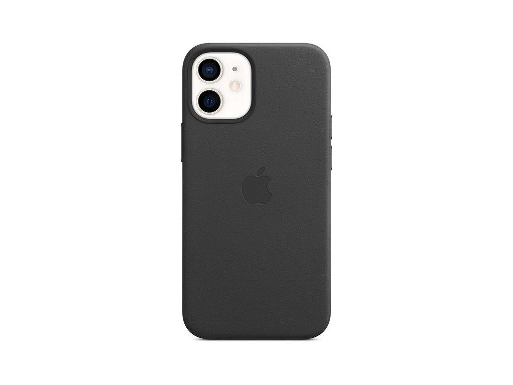iPhone 12 Mini - Apple silikonový kryt MagSafe Black