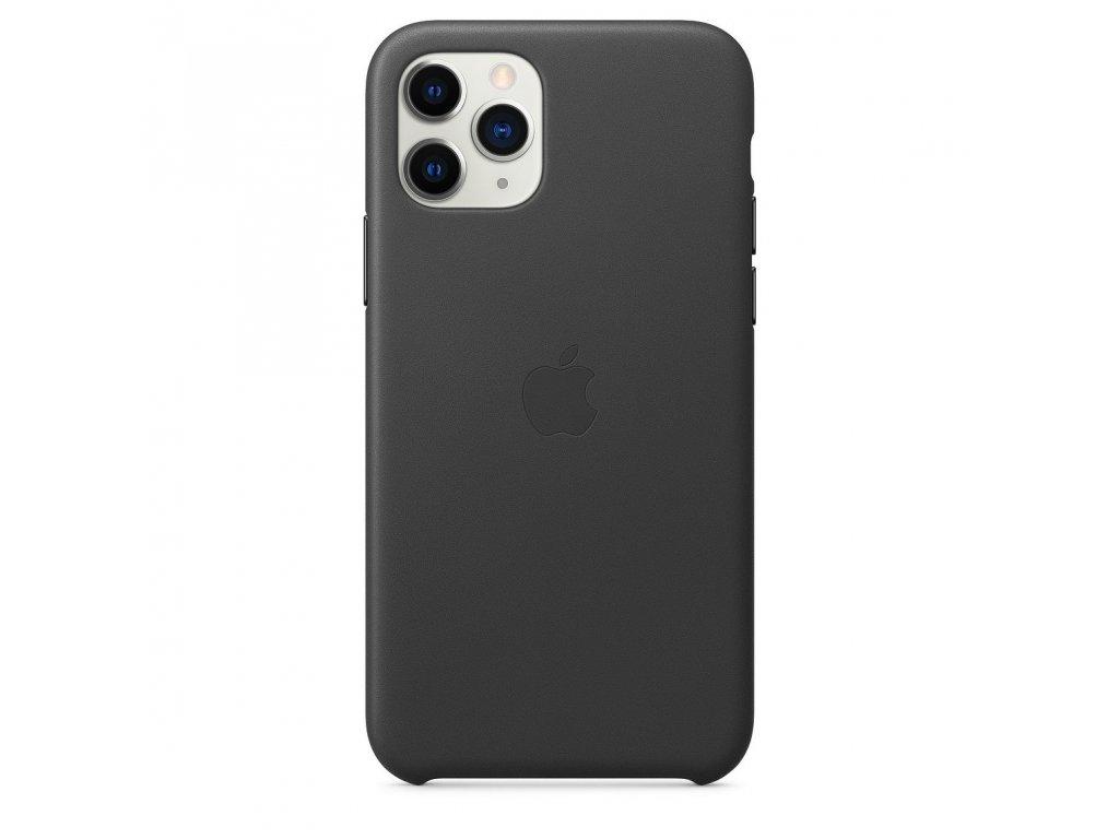 iPhone 11 Pro - Apple silikonový kryt Black