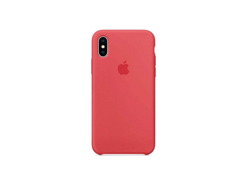 iphone silicone red raspberry x