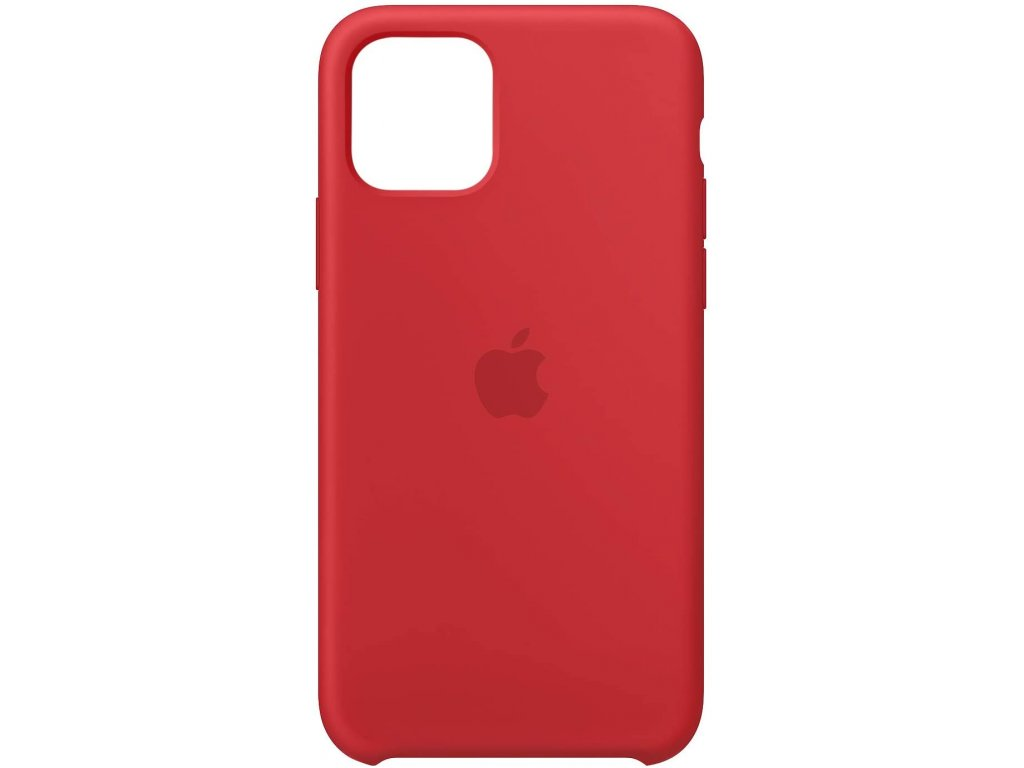 Apple Silicone Case Red - iPhone 11