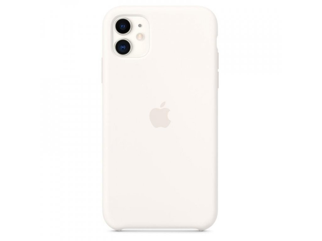 iPhone 11 - Apple silikonový kryt White