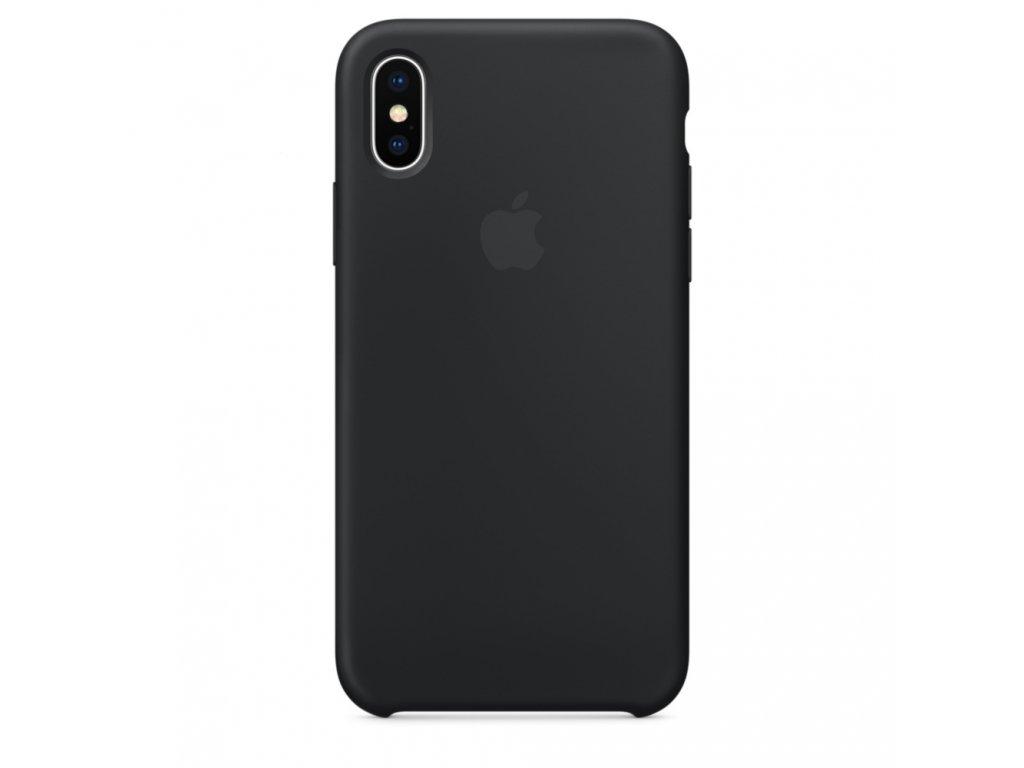 Apple Silicone Case Black - iPhone X/XS