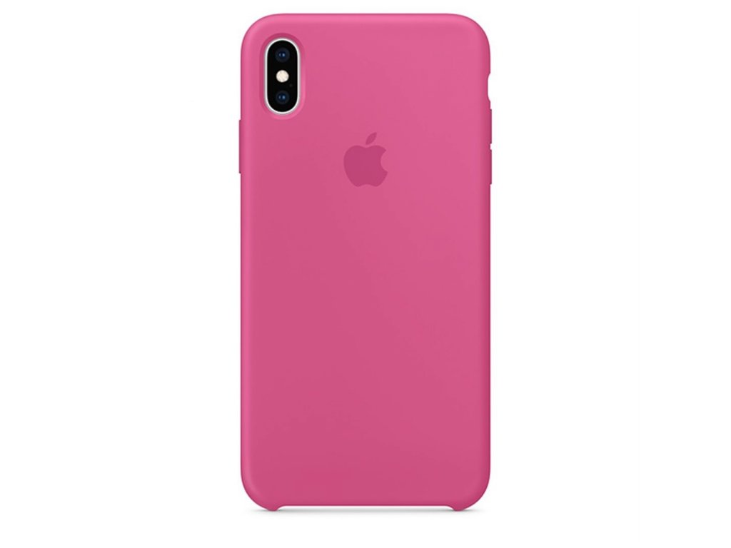 Apple Silicone Case Dragon Fruit - iPhone X/XS