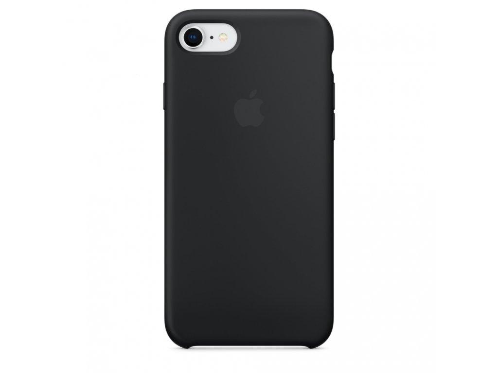 iPhone 7/8/SE 2020 - Apple silikonový kryt Black