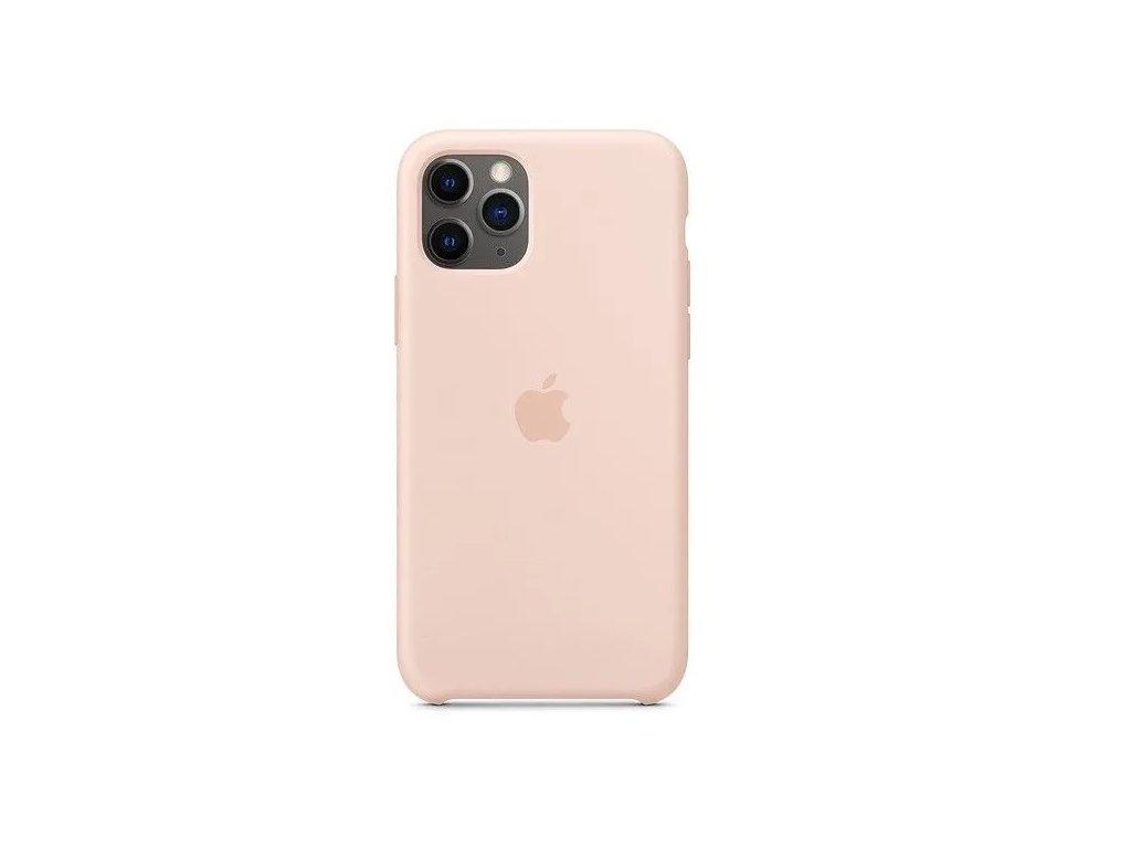 iPhone 11 Pro Max - Apple silikonový kryt Pink Sand