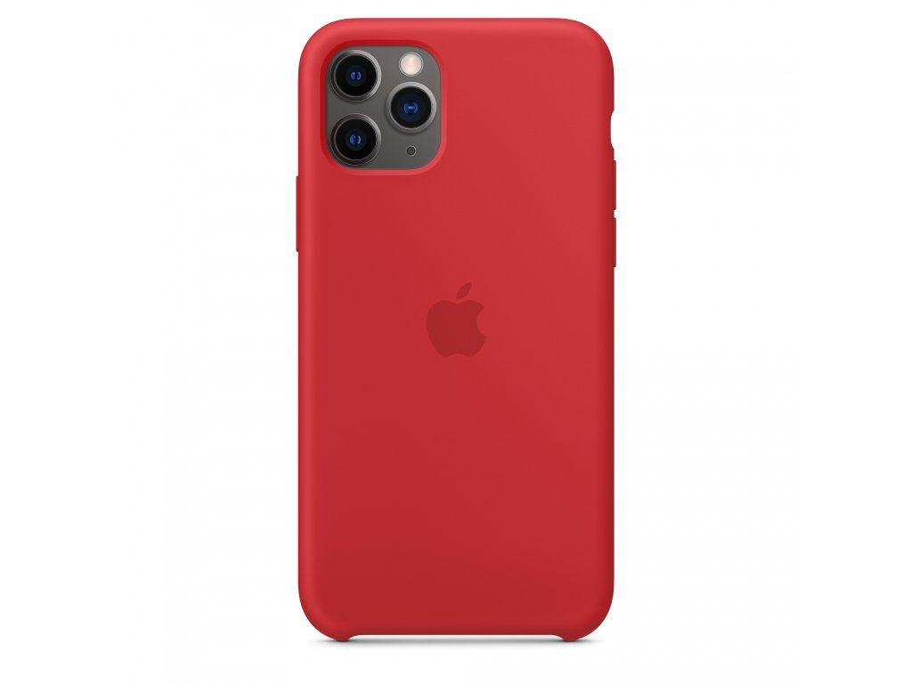 iPhone 11 Pro Max - Apple silikonový kryt Red