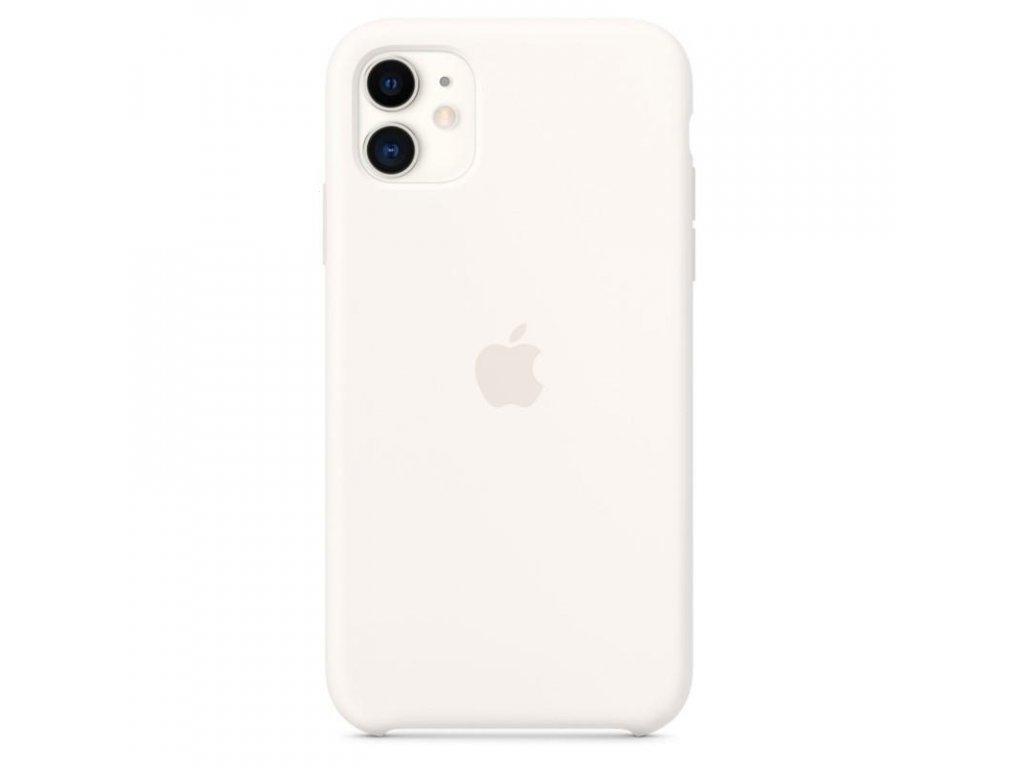 Apple Silicone Case White - iPhone 11 Pro Max